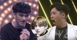 Chàng trai tự nhận là 'V (BTS) phiên bản Việt' khoe giọng hát khiến Ngô Kiến Huy 'đứng hình'
