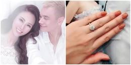 Ơn giời! Khắc Việt tặng nhẫn kim cương cho vợ DJ trước ngày cưới