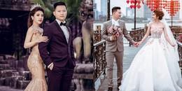 Học trò Đàm Vĩnh Hưng khoe trọn bộ ảnh cưới lung linh với chồng phi công