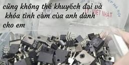 Trai trường Công nghiệp có khác, tỏ tình chỉ bằng bulong, con tán thế mà vẫn 'tình' kinh khủng!