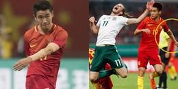 Hé lộ bí mật về những chiếc 'băng tay' của các cầu thủ Trung Quốc trong trận đấu với Xứ Wales