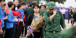 Hà Nội: Những hình ảnh xúc động ngày tiễn tân binh lên đường nhập ngũ