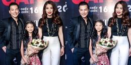 Trương Ngọc Ánh đưa con gái ôm hoa đến chúc mừng Trần Bảo Sơn