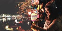 Hội An lại trở mình huyền ảo trong ánh đèn lồng và sắc hoa đăng rằm tháng Giêng