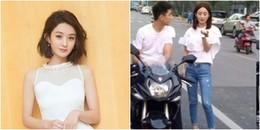 yan.vn - tin sao, ngôi sao - Lộ ảnh chụp lén ngoài đường, Triệu Lệ Dĩnh bị chê kém sắc
