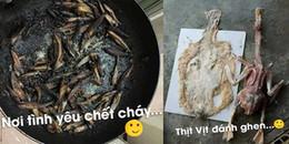 Chết cười với thảm họa nấu ăn của hội chị em có mối thù truyền kiếp với chuyện bếp núc