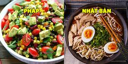 Góc giảm cân: Ngỡ ngàng trước thực đơn ăn kiêng đầy 'ú ụ' của các nước trên thế giới
