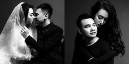 Khắc Việt tung bộ ảnh cưới ngọt ngào cùng bà xã DJ