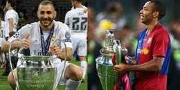 Top những cầu thủ quốc tịch Pháp 'chinh chiến' nhiều nhất tại Champions League