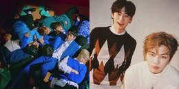 yan.vn - tin sao, ngôi sao - Có ai như Wanna One, quay MV mới cũng tranh thủ ngủ luôn trong lúc diễn