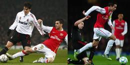 Nhìn lại những màn đối đầu 'rực lửa' của AC Milan và Arsenal