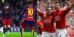 Di Maria, Pique và những ngôi sao từng được thi đấu bên cạnh cả Messi và Ronaldo