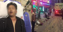 Vụ xe ben cuốn hàng loạt người vào gầm xe kinh hoàng ở Sài Gòn : 1 nạn nhân đã tử vong