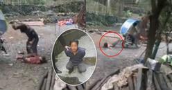 Bố ruột nổi 'thú tính' đánh đập, trói chân con gái nhỏ vào xe máy kéo lê trên đường đầy sỏi đá