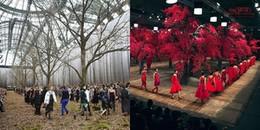 Show diễn của Chanel 'mượn' ý tưởng sàn catwalk của NTK Đỗ Mạnh Cường?