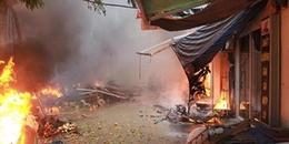 Hà Nội: Cháy lớn tại chợ Quang, hàng trăm người hoảng loạn, bỏ chạy