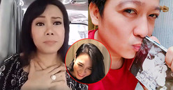 Ghen tỵ với Trường Giang, Việt Hương cũng livestream tha thiết xin được Mỹ Tâm tặng đĩa