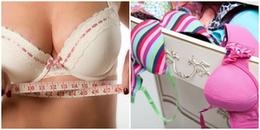 Có tới 80% phụ nữ sử dụng áo ngực sai kích cỡ, có chắc bạn đang mặc đúng?