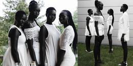 Gia đình 'tứ đại mỹ nhân' da đen tuyền khiến cộng đồng mạng phải chao đảo những ngày qua