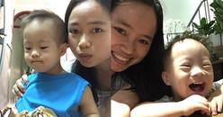 Mẹ đơn thân nuôi con bị hội chứng Down: từng có lúc tuyệt vọng muốn ôm con cùng chết