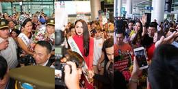 Những lần trở về khiến sân bay 'náo loạn' của Hoa hậu Việt