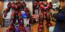 """Mô hình Iron Man khổng lồ gây """"bão"""" MXH với phong cách 'tặng quà nhà người ta'"""