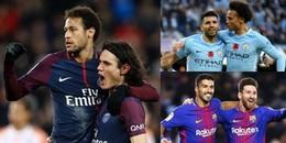 Top 5 'sát thủ' tại năm giải VĐQG hàng đầu Châu Âu: Barcelona cũng phải 'khép nép' trước Man City