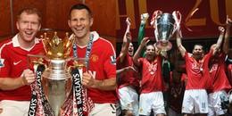Ryan Giggs và những cột mốc đáng nhớ trong sự nghiệp chơi bóng tại Manchester United