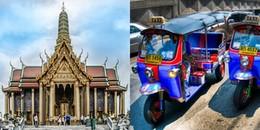 Mẹo bỏ túi cho 'những chú nai vàng' lần đầu đi xe tuk tuk khi du lịch Thái Lan