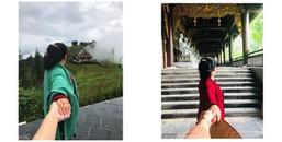 """Chụp ảnh """"nắm tay em đi khắp thế gian"""" là xưa rồi, cô gái này đã dắt mẹ đi khắp Việt Nam rồi cơ đấy"""