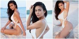 Á hậu Mâu Thủy diện bikini táo bạo không kém cạnh bất kì mỹ nhân Việt nào