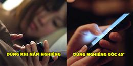 Bắt buộc phải dùng điện thoại trước khi ngủ thì nhất định phải nhớ làm theo những lưu ý này
