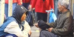 Anh chàng Huế giả ăn xin thử lòng người nghèo và sự tử tế không phân biệt bạn là ai trong xã hội