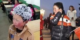 Dân mạng bất ngờ với tin cậu bé tóc đóng băng bị đuổi học tại trường mới vì lý do không tưởng