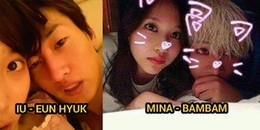 Những pha lộ ảnh thân mật tố chuyện hẹn hò của thần tượng Kpop
