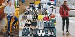 Không chỉ Miu Lê, 'cậu bạn trời sinh' Duy Khánh cũng sở hữu cả bộ sưu tập giày hiệu 'khủng' thế này