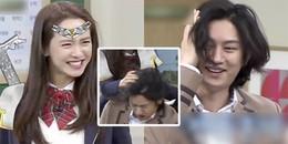 Song Ji Hyo tát Heechul sấp mặt vì cứ trêu cô với Kim Jong Kook và cái kết khiến người xem cạn lời