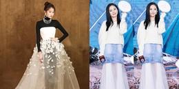 Thử cách phối đồ lạ mắt, mỹ nhân Hoa ngữ người khí chất ngút trời kẻ thành thảm họa thời trang