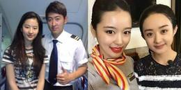 yan.vn - tin sao, ngôi sao - Sao Hoa ngữ chụp cùng tiếp viên hàng không: người lộ mặt kém sắc, người đẹp hoàn hảo
