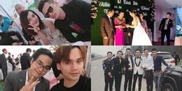 yan.vn - tin sao, ngôi sao - Dàn sao Việt nô nức về quê dự đám cưới của Khắc Việt và vợ DJ xinh đẹp