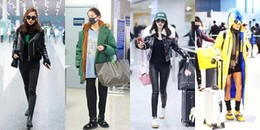 yan.vn - tin sao, ngôi sao - Ngắm thời trang sân bay của sao Hoa ngữ mới thấy không phải ai cũng biết cách ăn mặc