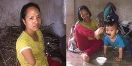 Niềm hạnh phúc của người mẹ cụt tay đơn thân: Mong con khôn lớn để nương tựa tuổi già