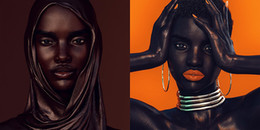 Sự thật về người mẫu có làn da đen nhất thế giới gây ra nhiều tranh cãi và phẫn nộ