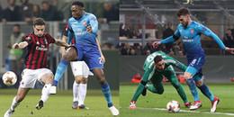 Mkhitaryan và Ramsey giúp Arsenal kéo sập 'pháo đài' San Siro