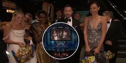 Oscar 2018: chị đại Wonder Woman Gal Gadot và Harley Quinn Margot Robbie xinh đẹp hết phần sân khấu