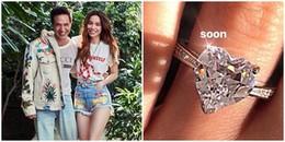 Hồ Ngọc Hà khoe nhẫn kim cương trái tim, sắp đám cưới với Kim Lý?