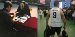 yan.vn - tin sao, ngôi sao - 1001 cách gây ấn tượng với idol tại fansign: Từ cosplay Vô Diện đến xăm hình idol kín người