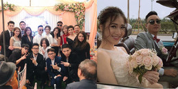 Loạt khoảnh khắc hiếm hoi trong lễ đính hôn bí mật của JustaTee và bạn gái hot girl