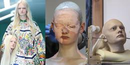 Cận cảnh quá trình tạo ra chiếc đầu người trong show diễn gây sốc của Gucci