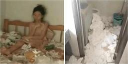 Suy sụp vì thất tình, cô gái tự nhốt mình trong căn phòng đầy rác bốc mùi hôi thối